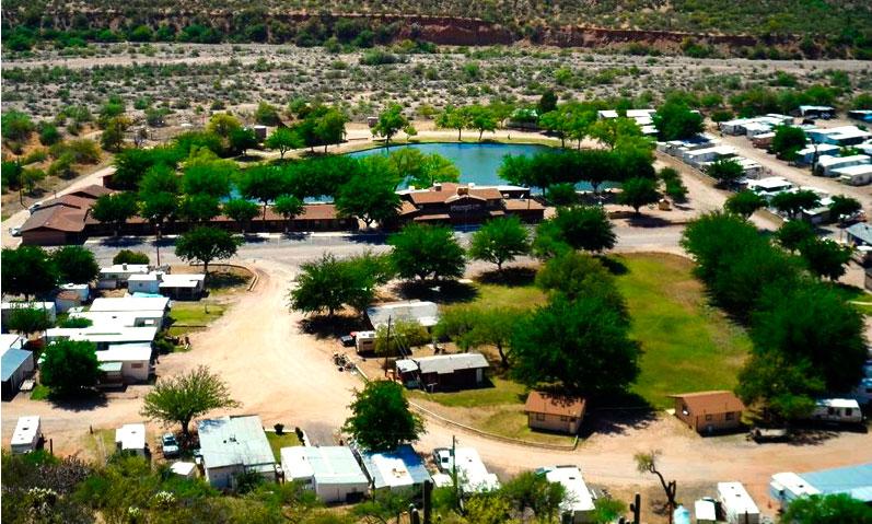 Roosevelt Resort Park Aerial Image