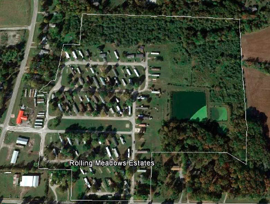 Rolling Meadows Mobile Home Park Community